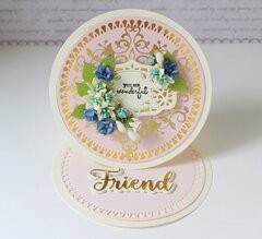 Foiled Card by Hussena