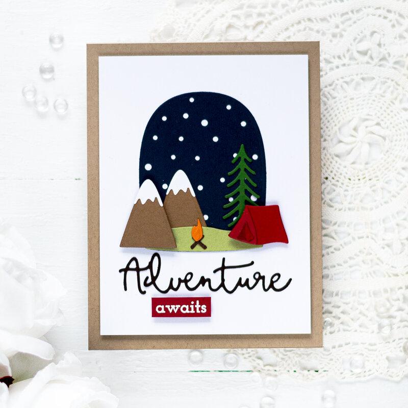 Adventure Awaits Card by Svitlana Shayevich