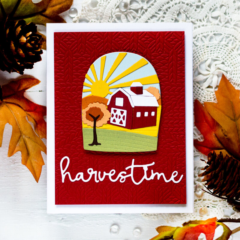Harvestime Card by Svitlana Shayevich