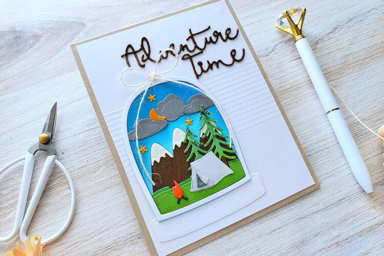 Adventure Time Card by Yasmin