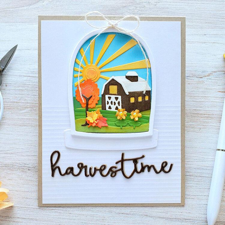 Harvestime Card by Yasmin