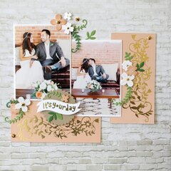 Scrapbook Page by Melody Rupple