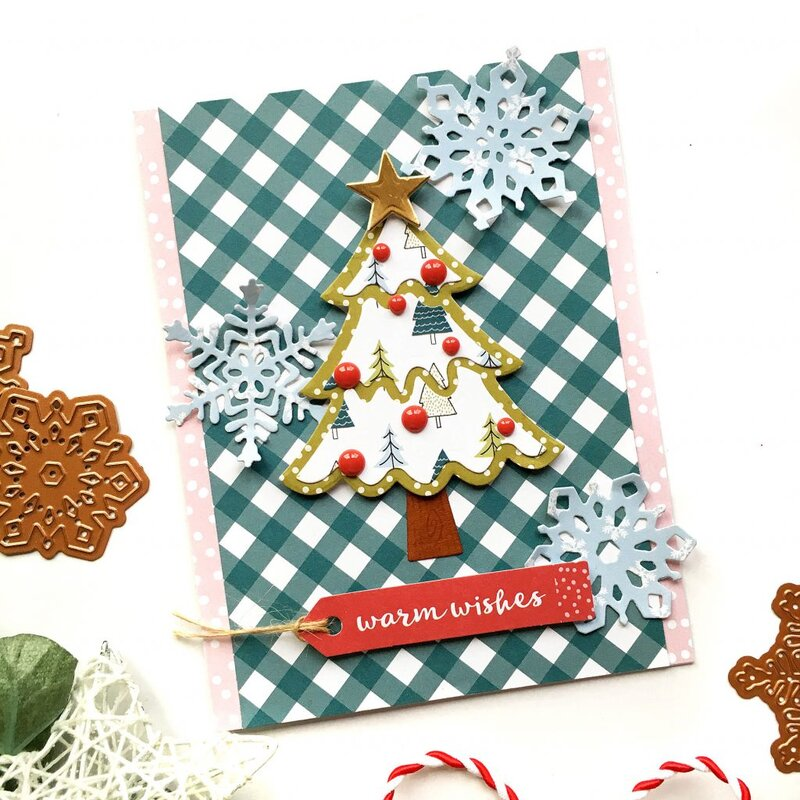 Warm Wishes Card by Enza Gudor
