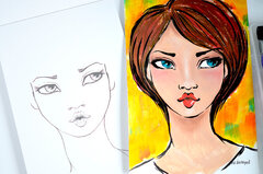Gorgeous Faces by Mayline Jung
