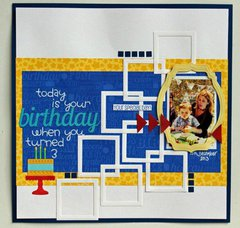 Birthday Squares by Beck Beattie