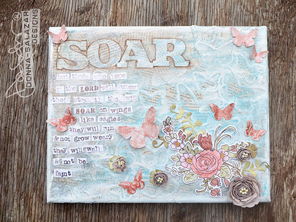 Donna Salazar, Coloring With Stamp/Die Combos from Spellbinders