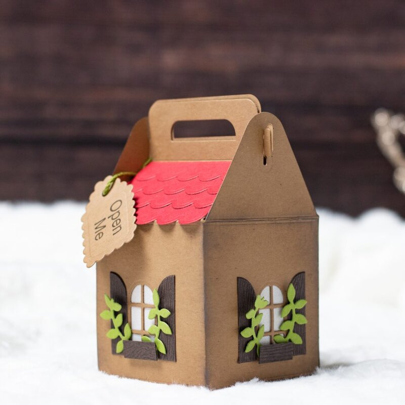 Gingerbread House Gift Box by Koren Wiskman