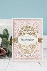 You Encourage Me When I Stumble Card