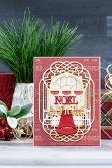 Christmas Balcony Card