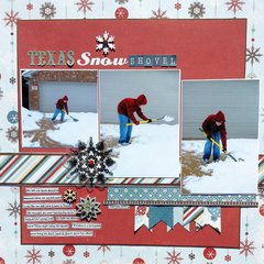 Texas Snow Shovel *Sketch N Scrap*