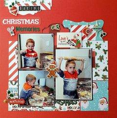 Baking Christmas Memories