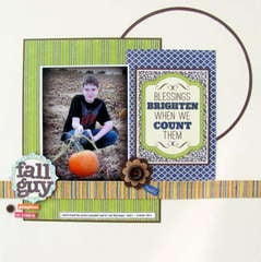 Fall Guy * Personalscrapper kit*