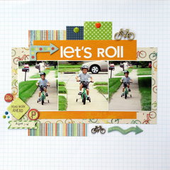 Let's Roll *Sketch N Scrap*
