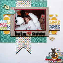 Katie & Simon *Sketch N Scrap*