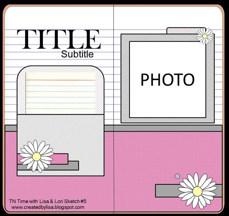 TN Time with Lisa & Lori sketch #5