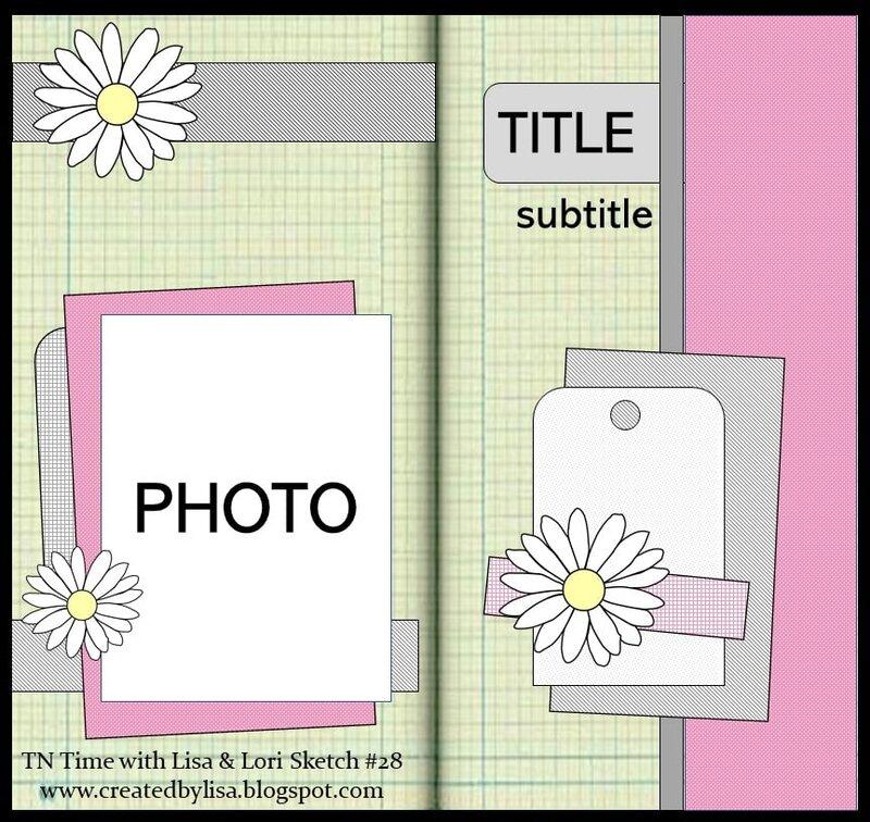 TN Time with Lisa & Lori sketch #28