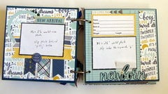 Project Ideas For Carta Bella Paper Rock A Bye Baby Boy Collection