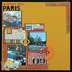 Walking thru Paris