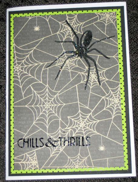 Halloween 2012 - Black Widow