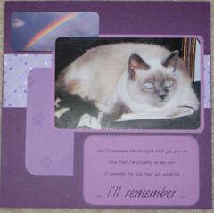 I'll remember...