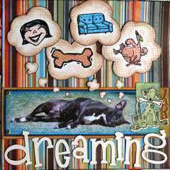 What my dog dreams of