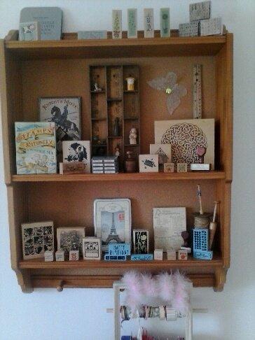 Stamp cabinet