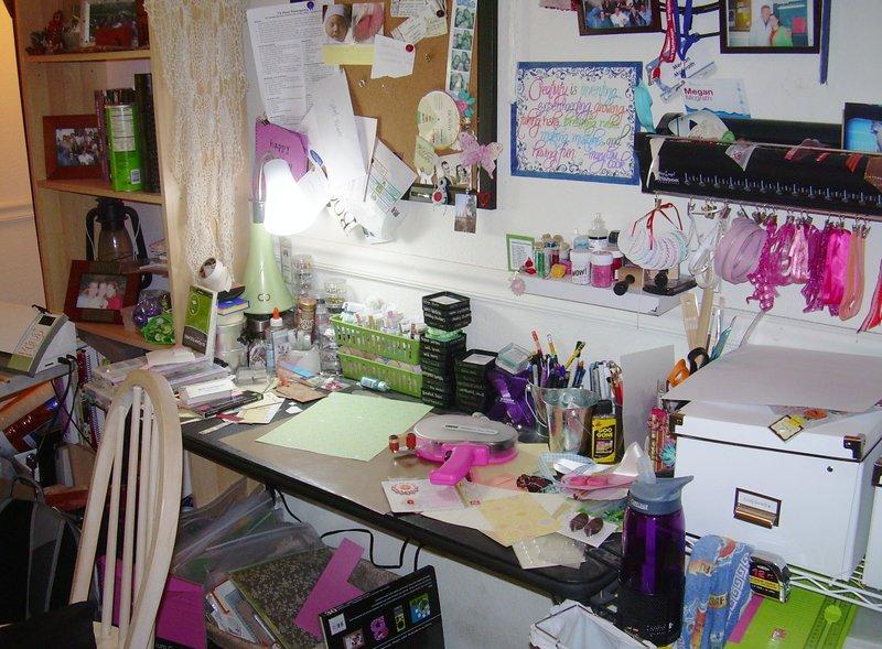 Hot Mess Desk