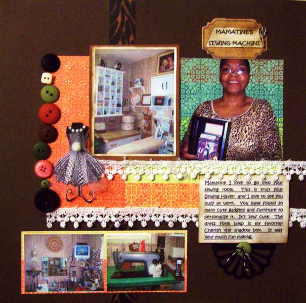 Mamatine's Sewing Machine 'Platinumscraps'