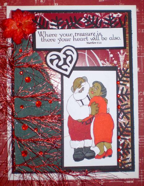 Santa's heart