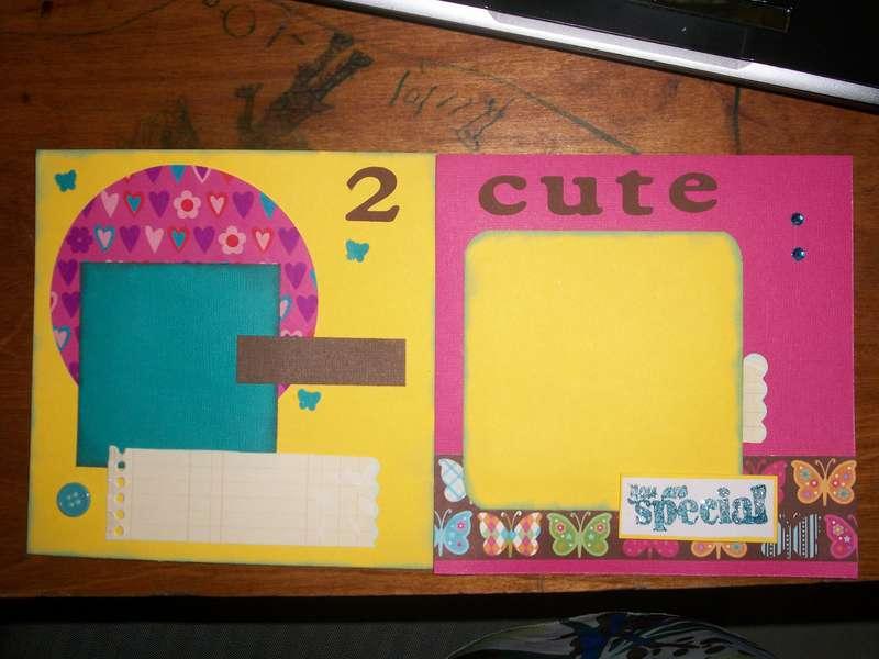 2 Cute-6x6 Baby Swap-Girl