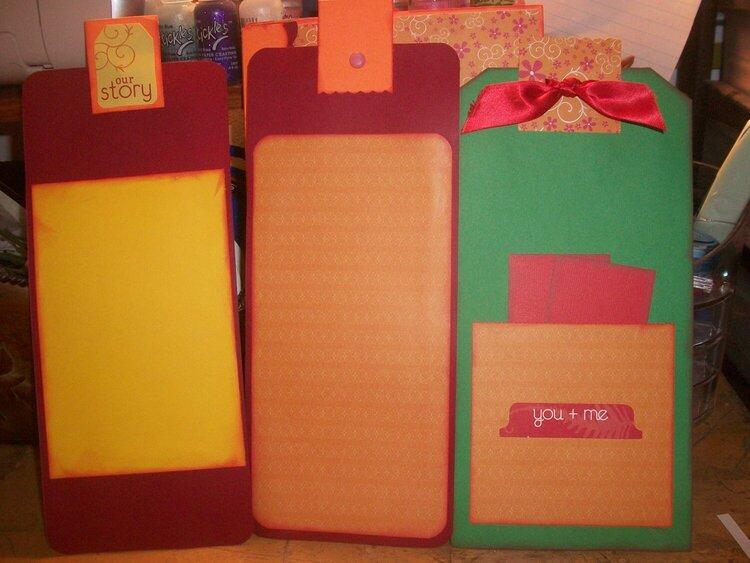 Tags for brown bag album