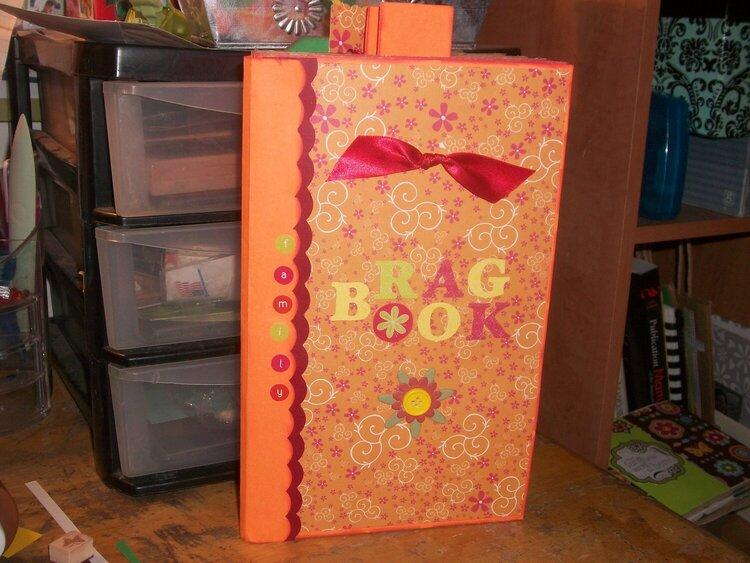 Brown Bag Album-Family Brag Book