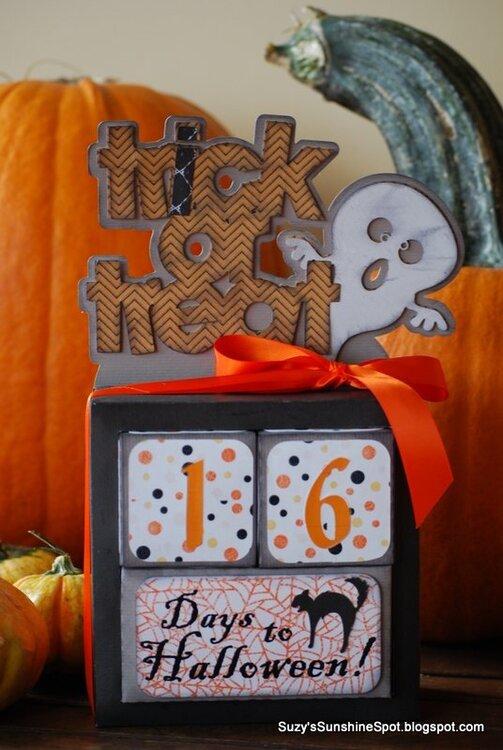 Halloween Countdown calander