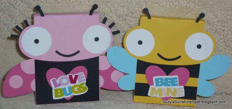 Valentine Goodie Boxes