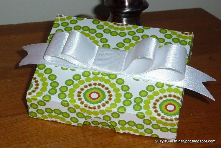 Gift card holder box....