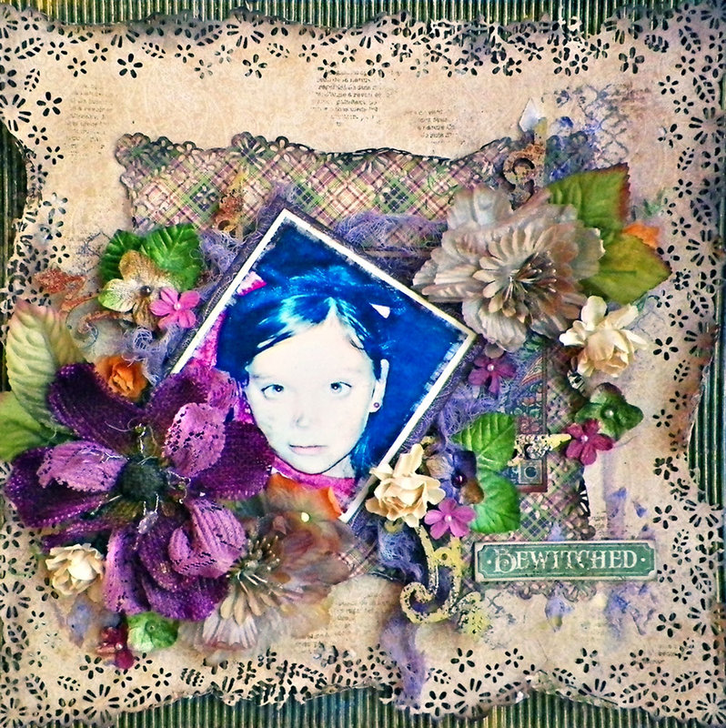 Bewitched Layout **Scraps of Darkness **