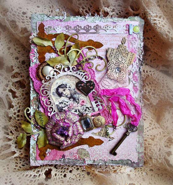 Altered Book ***Heartfelt Creations & Berry Bleu***