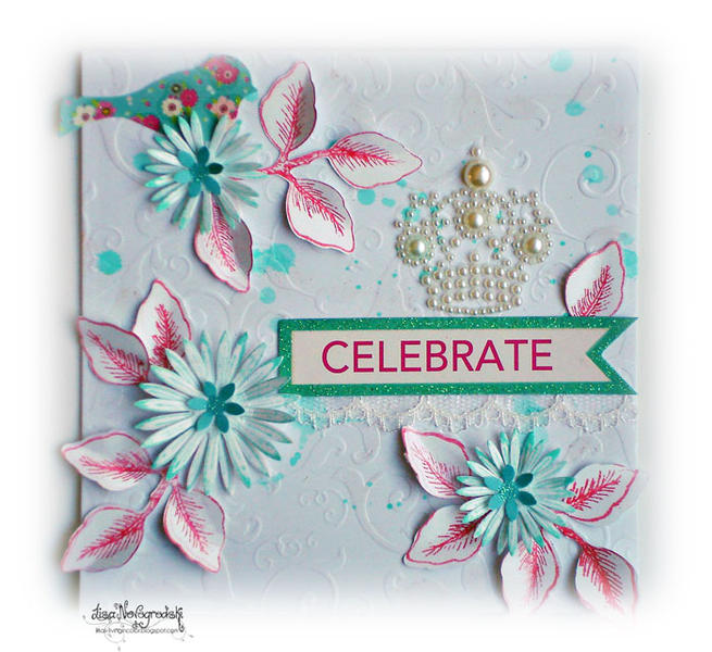Celebrate Card **RUBY ROCK IT **