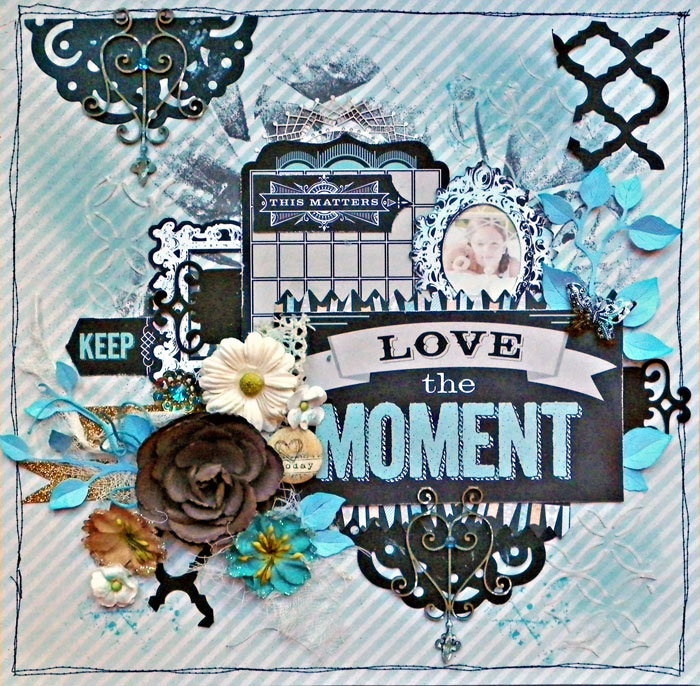 Love the Moment **SCRAPS OF DARKNESS **