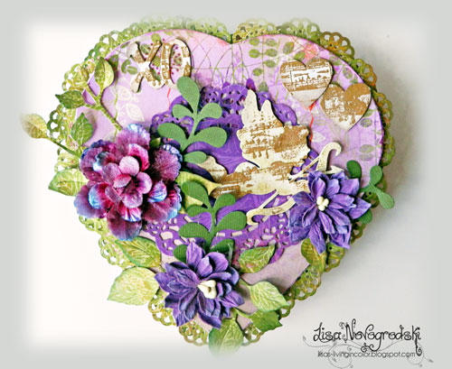 Heart Box *** COTTAGECUTZ *** GINAS DESIGNS***