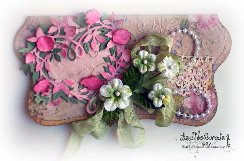 Vintage Heart Card **COTTAGECUTZ***