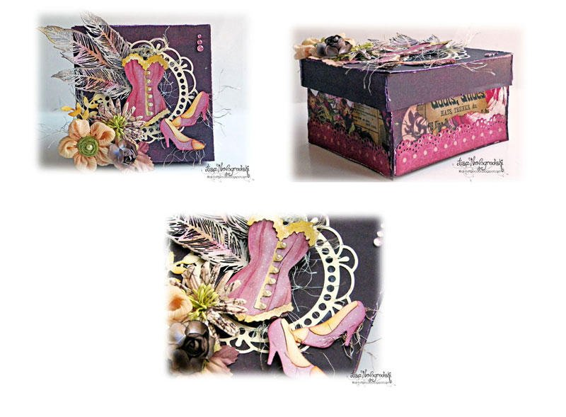 Altered Box **Gina's Designs & CottageCutz**