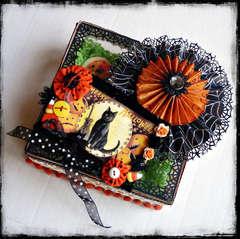 Halloween Cookie Box *** BERRY BLEU TAGS ***