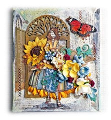 Julie Nutting Canvas **Scraps of Elegance**
