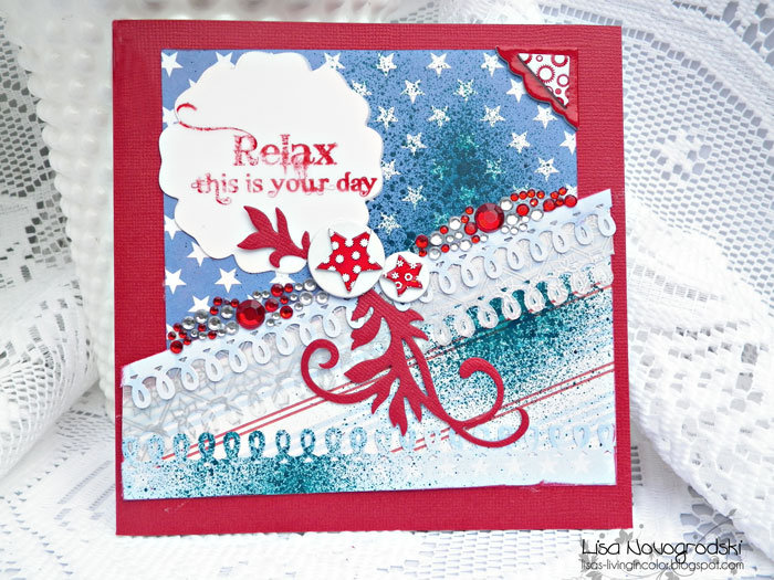 Relax Card **Ruby Rock It **