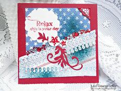 Relax Card **Ruby Rock It **