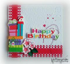 Happy Birthday Card **RUBY ROCK IT**