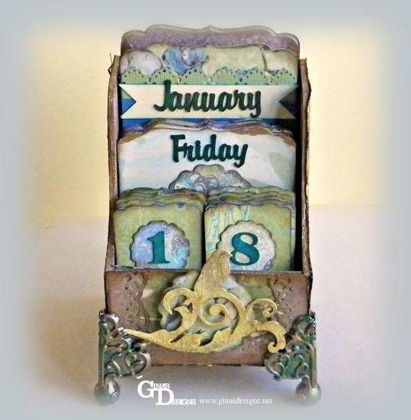 "Perpetual Calendar ** GINA'S DESIGNS"""