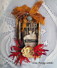 Halloween Tag*Gina's Designs & Scraps of Darkness