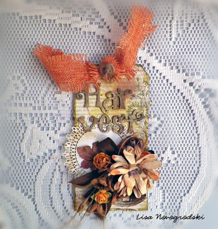Harvest Tag *Gina's Designs & Scraps of Darkness*